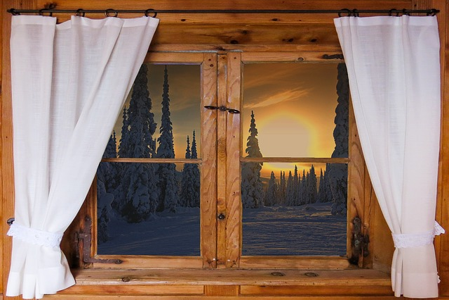 Nature, Landscape, Window, Outlook, Wooden Windows, Sun
