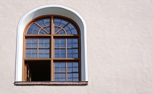 Window, Wooden Windows, Arched Windows, Round Arch