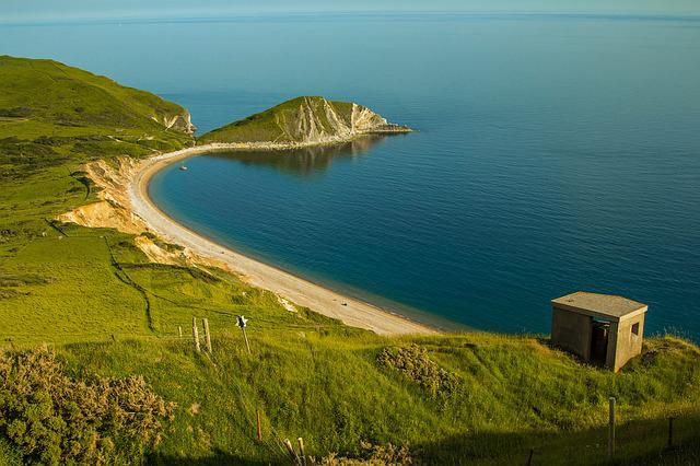 Worbarrow Bay, Sea, Dorset, Ocean