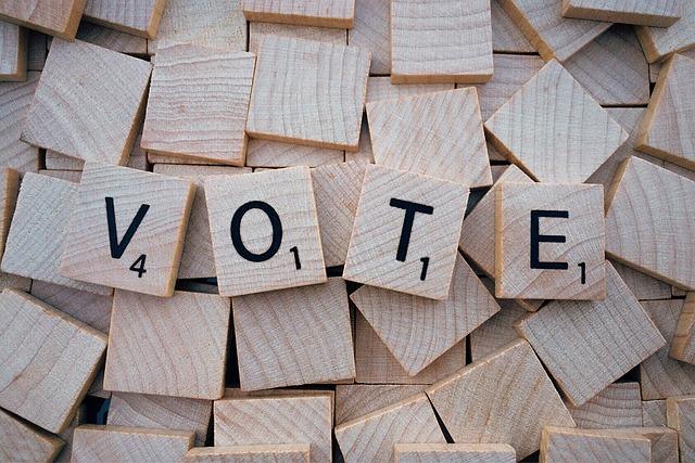 Vote, Word, Letters, Scrabble
