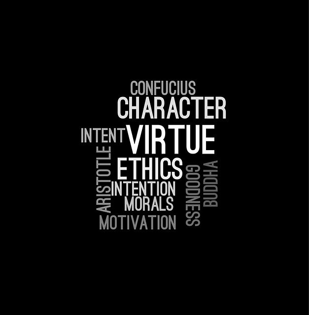 Ethics, Wordcloud, Character, Confucius, Message, Font