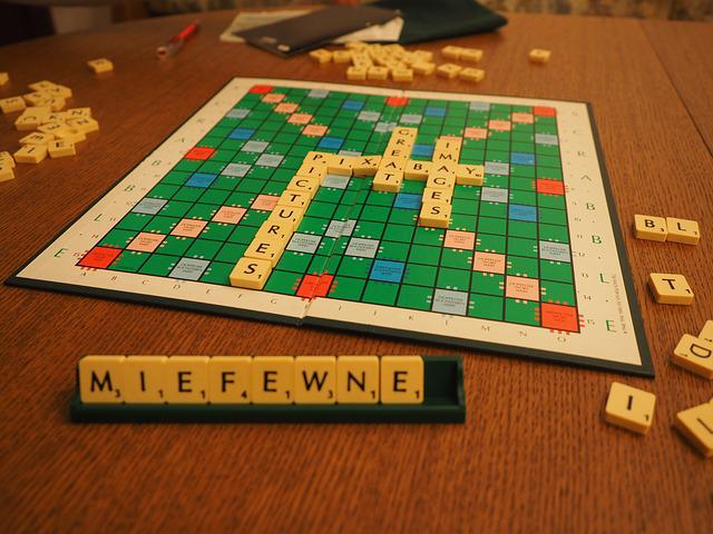 Scrabble, Play, Board Game, Letters Game, Words Game