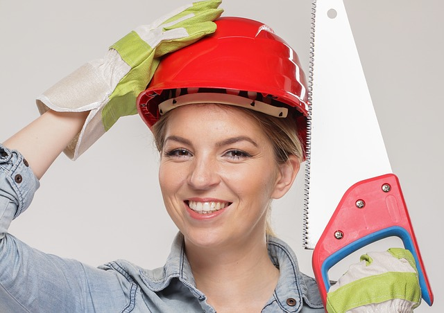Woman, Portrait, Homework, Work Clothes