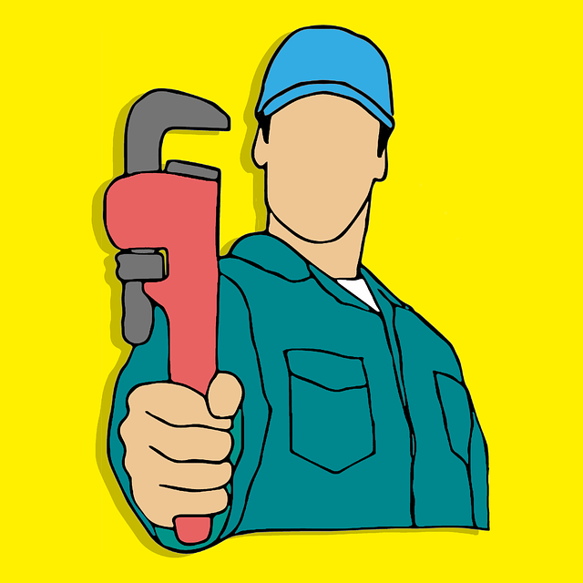 Plumber, Fix, Repair, Work, Vector, Sketchbook, Symbol