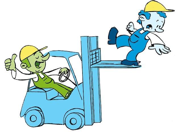 Forklift, Workers, Warehouse, Transportation, Operator