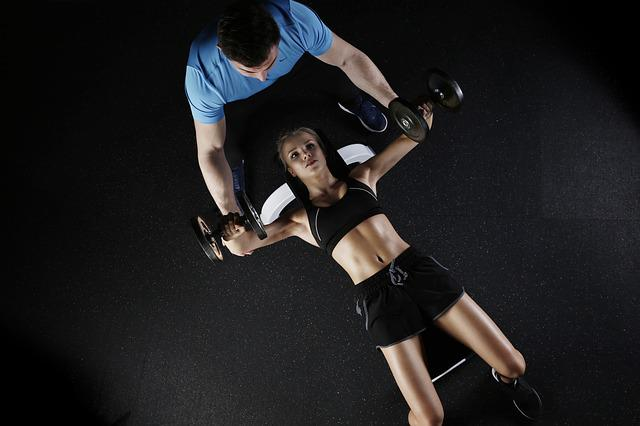 Woman, Personal Trainer, Fitness, Exercise, Workout