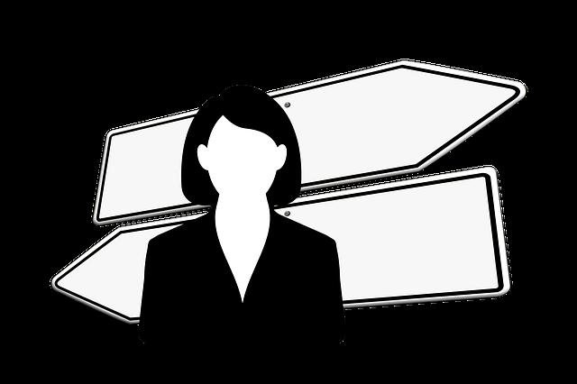 Businesswoman, Business, Workplace, Economy, Direction