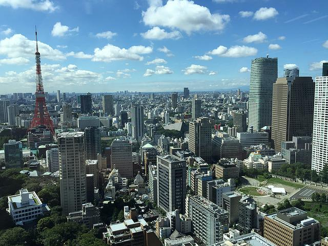 Tokyo, Japan, City, Office, Toranomon Hills, Workplace