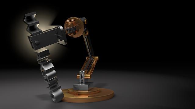 Workshop, Light, Lamp, Robot, Robot Arm, Simulation
