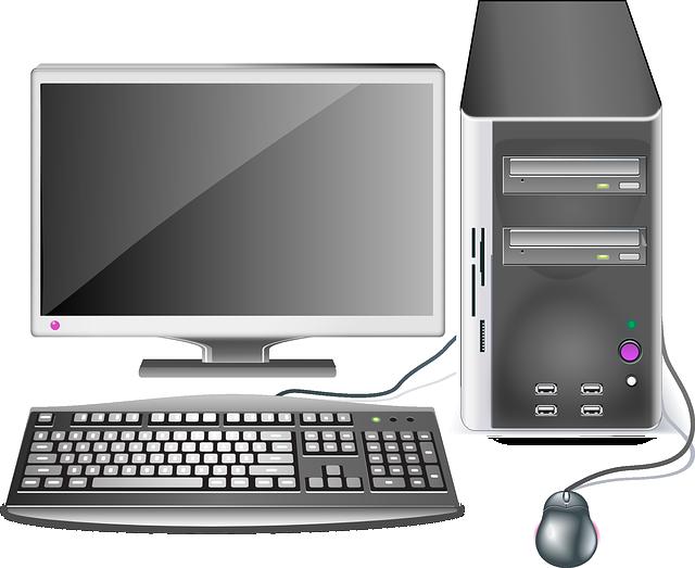 Computer, Desktop, Workstation, Office, Hardware