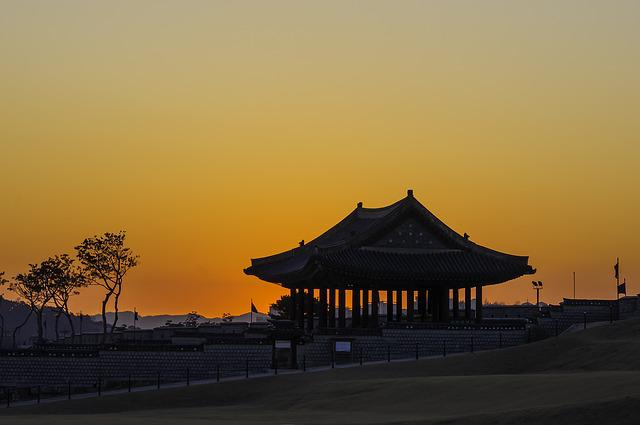 Suwon Hwaseong, East Pole, World Cultural Heritage