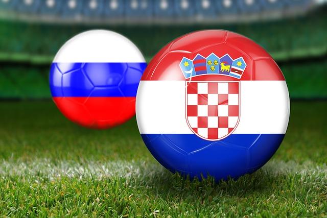 Quarter-finals, World Cup 2018, Russia, Croatia