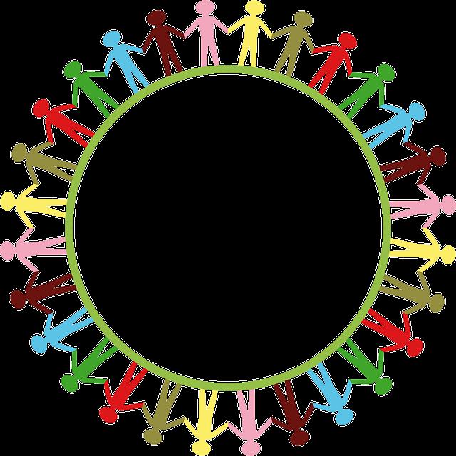 Globe, World, Earth, Hands, People, Kids, Circle