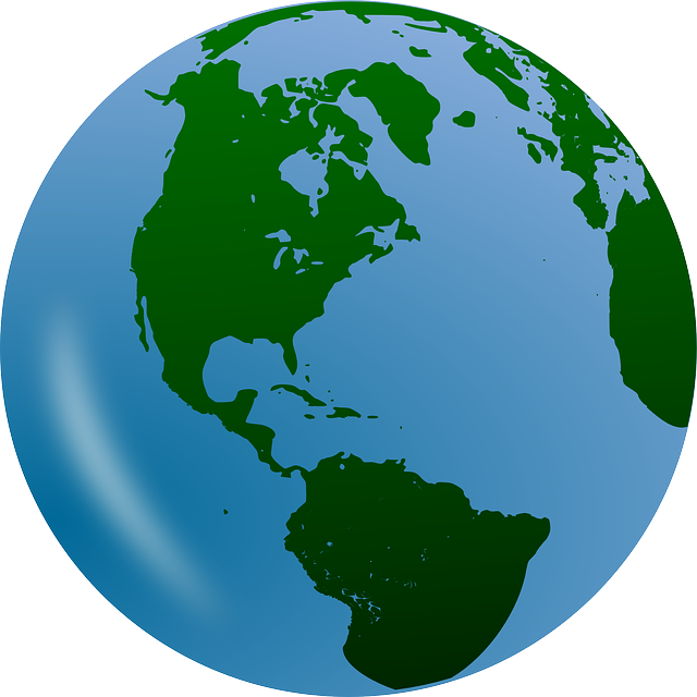 Earth, Globe, Planet, World, Continents, World Map