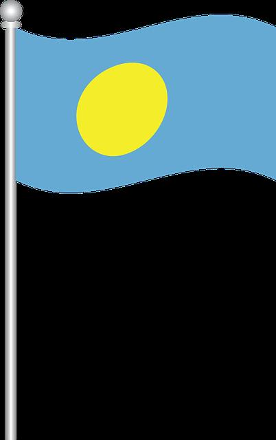 Flag Of Palau, Flag, Palau, World