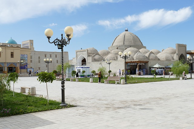 Uzbekistan, Bukhara, Architecture, Dome, World Heritage