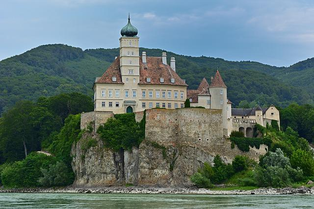 Danube, Wachau, World Heritage, Castle Schönbühel