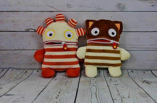 Worry About Hog, For Two, Ensure Püppchen, Plush, Funny