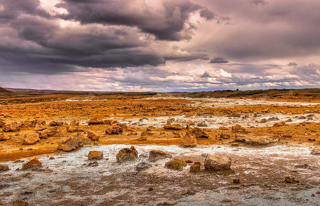 Iceland, Wow, Landscape, Nature, Sky, Clouds, Mountains