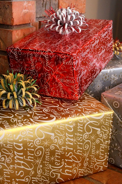 Christmas, Gift, Holiday, Wrapped, Present, Wrap