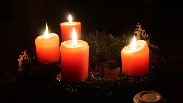 Advent Wreath, Wreath, Christmas, Christmas Time