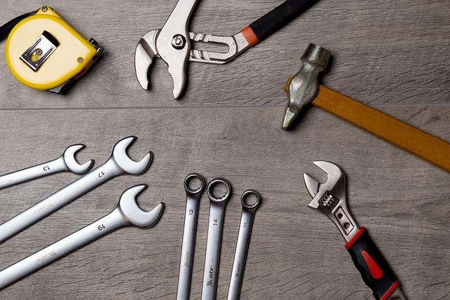 Tool, Repair, Work, Metal, Roulette, Key, Wrench