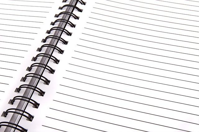 Open Notebook, Blank Page, Notebook, Write, Record
