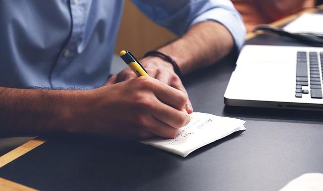 Write, Plan, Desk, Notes, Pen, Writing, Taking Notes