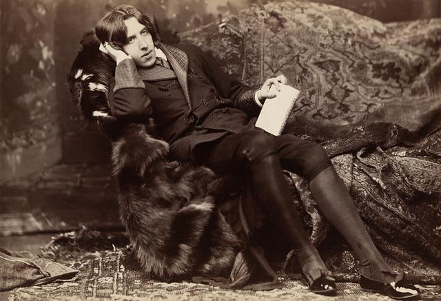 Oscar Wild, 1882, Writer, Author, Book Author