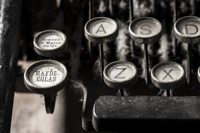 Typewriter, Alphabet, Letter, Writer, Writing, Author