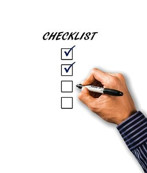 Checklist, List, Hand, Pen, Business, Writing, Check