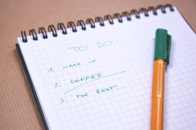 To Do, List, Checklist, Notepad, Notebook, Pen, Writing