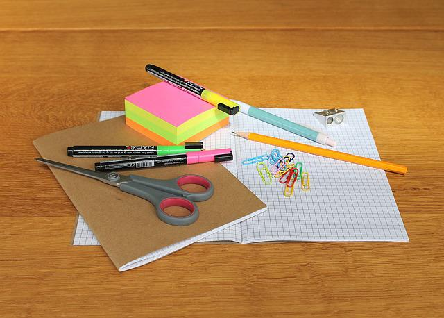 Desk, Writing Implements, Writing Articles, Office