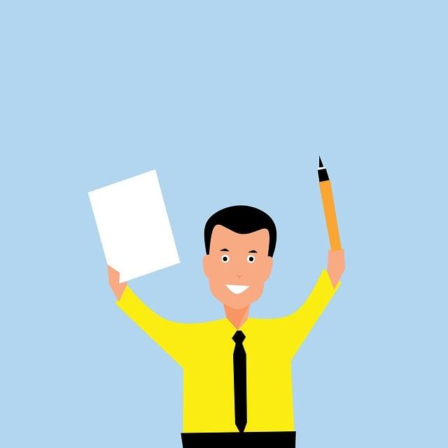 Writing, Paper, Pen, Pencil, Man, Author