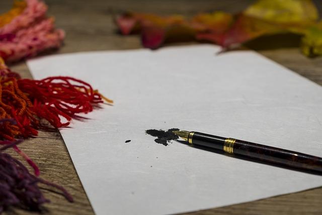 Filler, Writing Implement, Leave, Writing Utensil