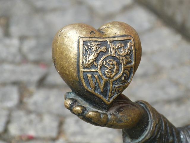 Heart, Hand, Wroclaw, Marketplace, Wrocław, Dwarf