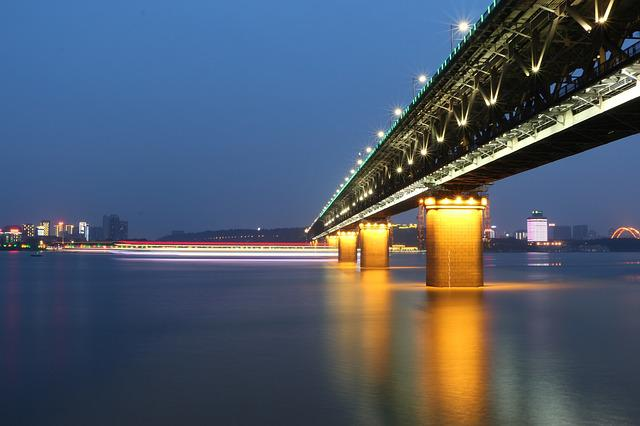 Wuhan, Wuhan Yangtze River Bridge, The Yangtze River