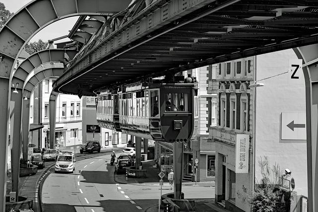 Wuppertal, Schwebebahn, Viaduct, Imperial Road