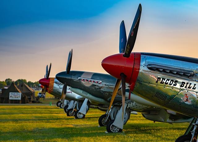 Aircraft, Airplane, Mustang, Aviation, P-51, Plane, Ww2