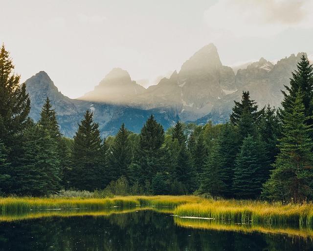 Grand Teton, National Park, Travel, Wyoming, Mountains