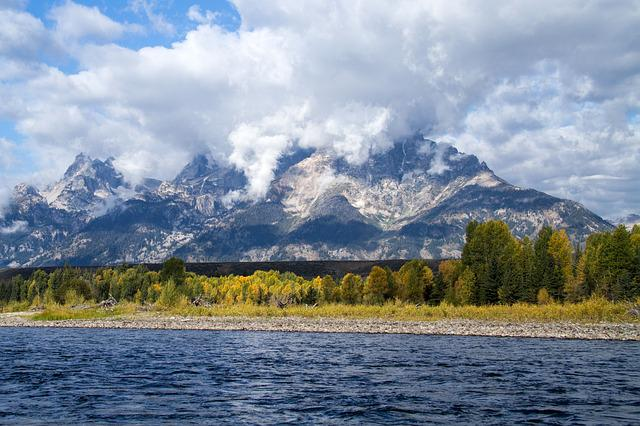 Grand Teton National Park, Wyoming, Snake River