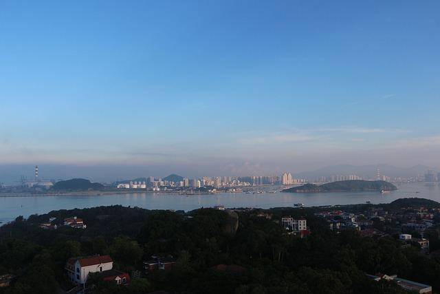Xiamen, Gulangyu Island, Sunlight Rock