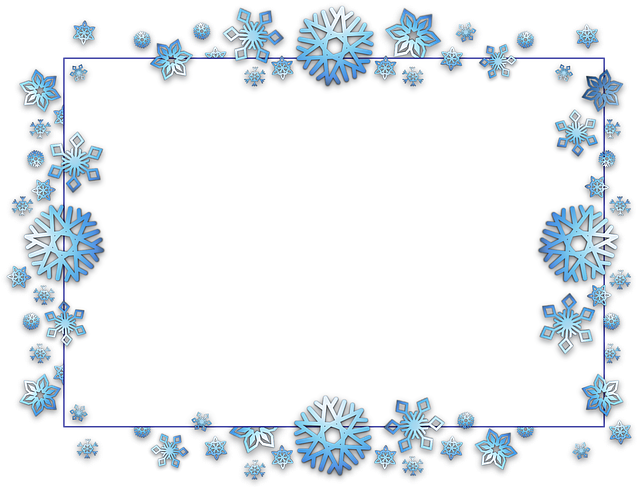 Frame, Border, Card, Xmas, Christmas, Snow, Flake