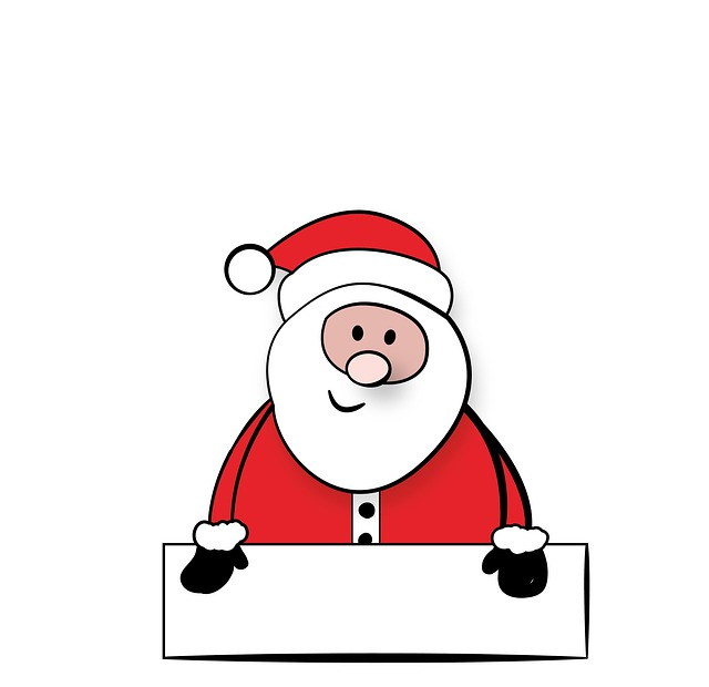 Santa Claus, Nicholas, Sign, Shield, Christmas, Xmas