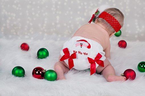 Christmas, Xmas, Baby, Ho Ho Ho, Holiday, Celebration