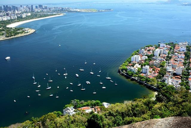 Brazil, Fang A Three Car, Rio De Janeiro, Yacht