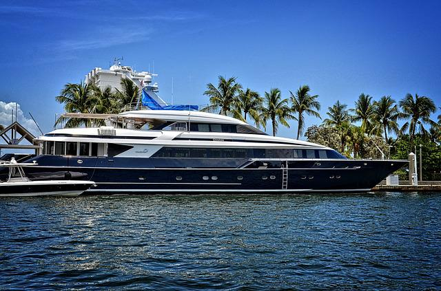 Yacht, Fort Lauderdale, Florida, Water Tropical, Boat