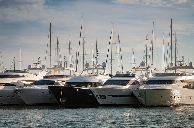 Yachts, Mallorca, Port, Harbor
