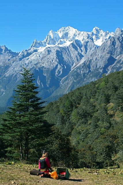 The Jade Dragon Snow Mountain, Yak Meadow