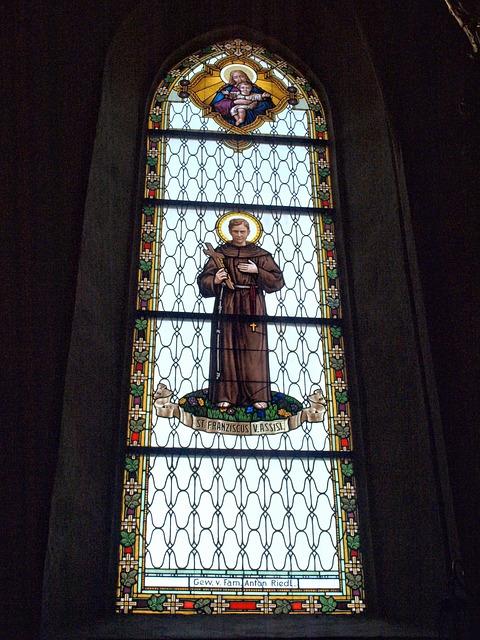 Ybbs, Hl Laurentius, Parish Church, Stained Glass